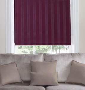 Belmont Grape Roman Blind Moonshadow Blind