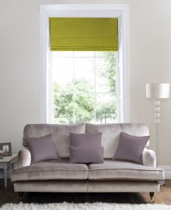 Alma Lime Roman Blind