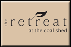 Link to the retreat at the coal shed